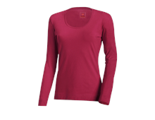 e.s. Longsleeve cotton stretch, dames