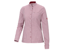e.s. Business-blouse mandarin, dames