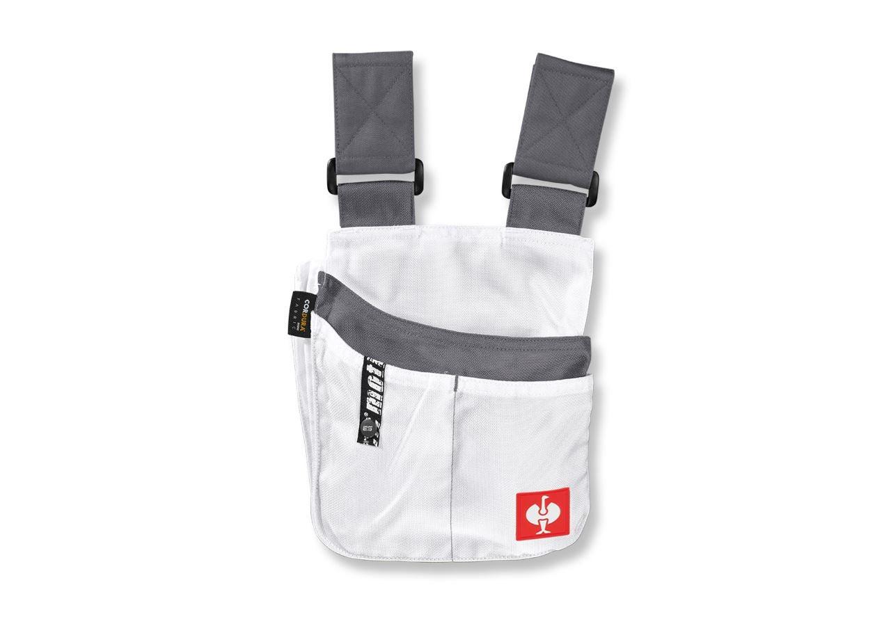 Accessoires: Workerzak e.s.motion + wit/grijs