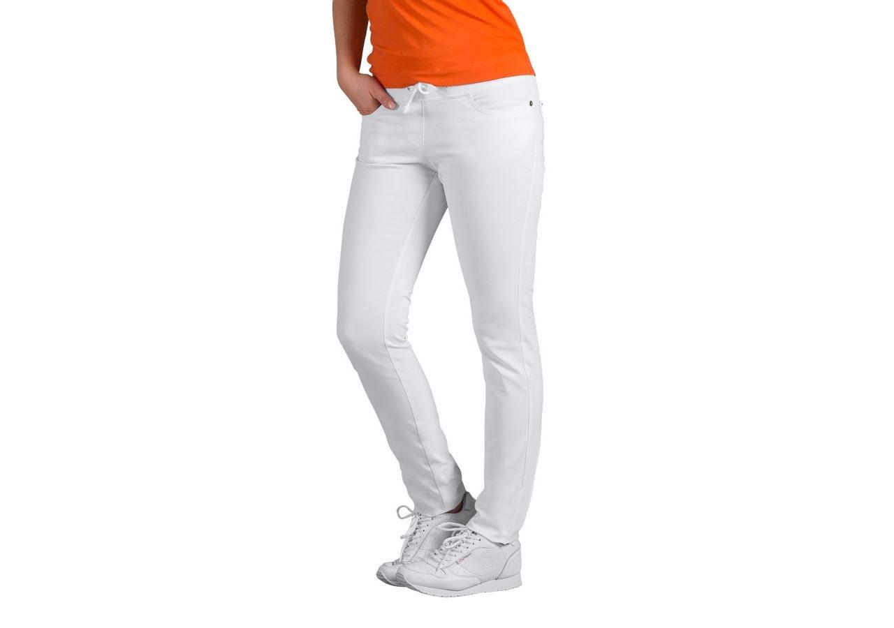 Werkbroeken: Damesbroek Rena + wit