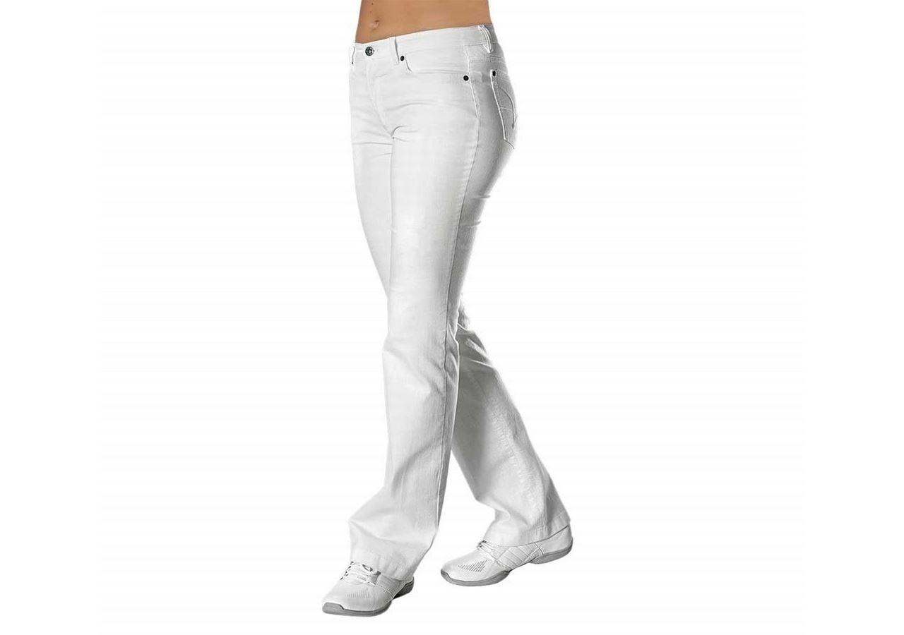 Werkbroeken: Damesbroek Loni + wit