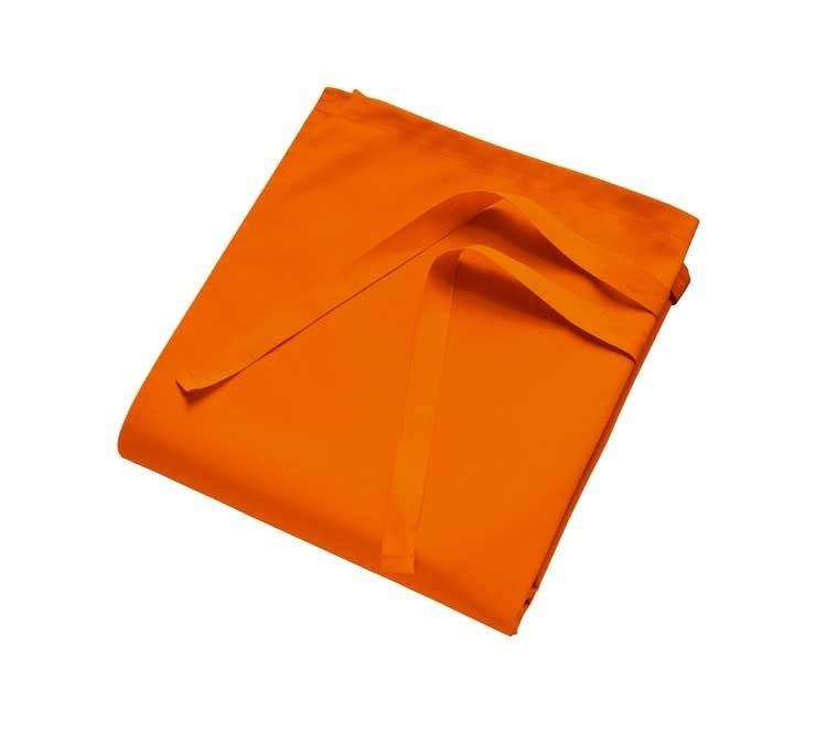 Schorten: Bistroschort Brügge + oranje