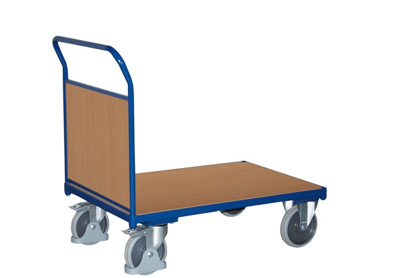 Strijkwagen: Plateauwagen met gesloten kopschot
