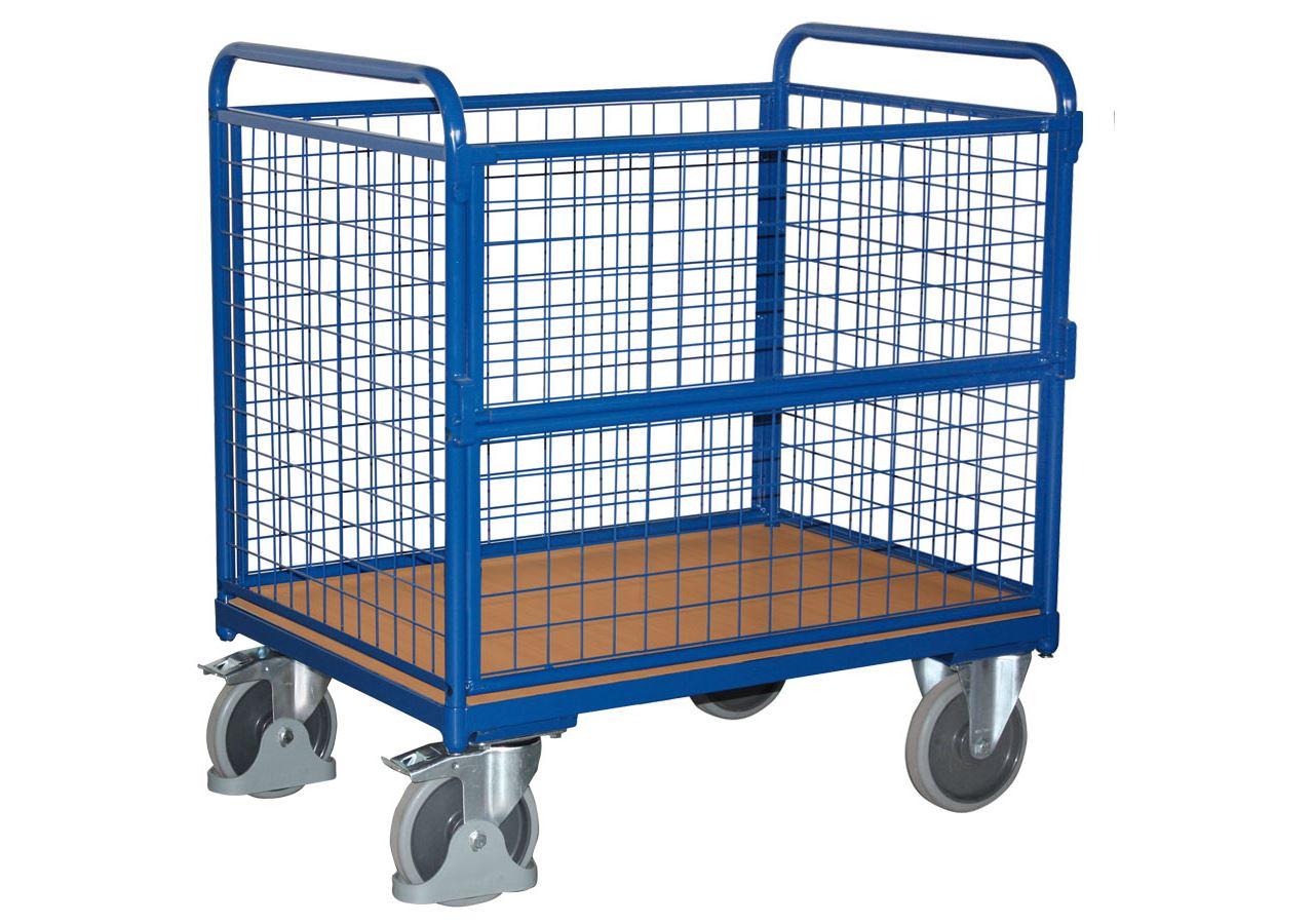 Strijkwagen: Modulair karretje van staaldraad
