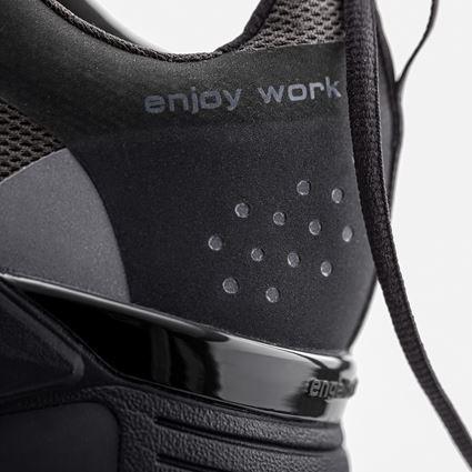 O1: O1 Werkschoenen e.s. Chete + zwart/antraciet 4