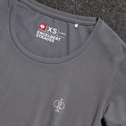 Bovenkleding: Modal-shirt e.s. ventura vintage, dames + bazaltgrijs 2