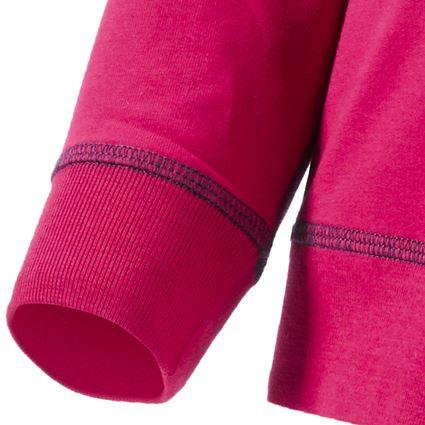 Bovenkleding: Sweatshirt e.s.motion 2020, kinderen + bessen/donkerblauw 2