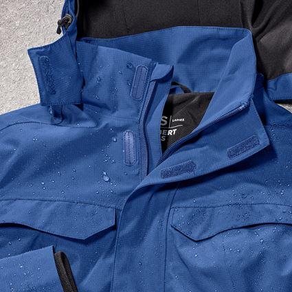 Werkjassen: Regenjack e.s.concrete, dames + alkalisch blauw 2
