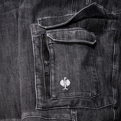 Werkbroeken: cargo worker-jeans e.s.concrete + blackwashed 2