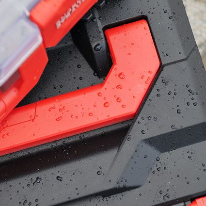 Gereedschapskoffers: STRAUSSbox 165 large + zwart/rood 2