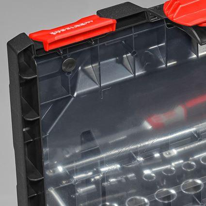 Gereedschapskoffers: Dekselfolie incl. pinnen STRAUSSbox midi + 2