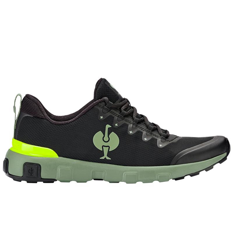 Andere beroepsschoenen: Allroundschoenen e.s. Bani + zwart/lichtgroen