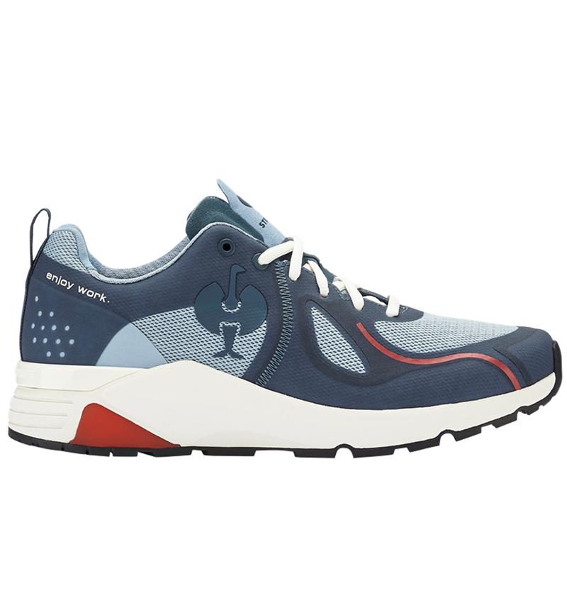 O1: O1 Werkschoenen e.s. Chete + ijzerblauw/krijtblauw