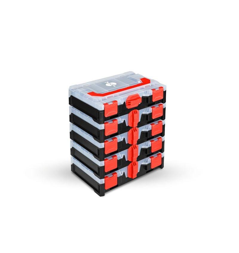 Gereedschapskoffers: STRAUSSbox mini set 5 voor 4