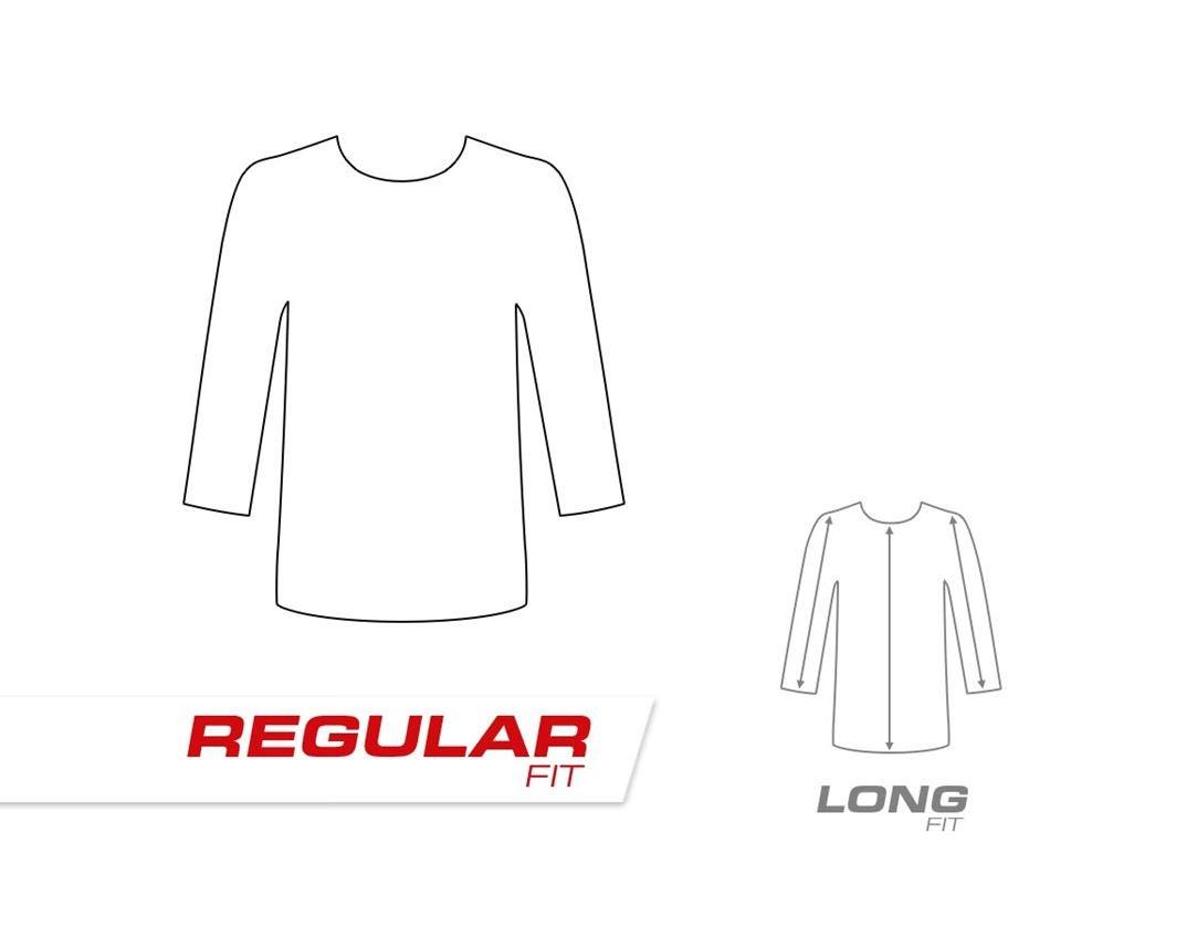 Bovenkleding: e.s. Sweatshirt cotton stretch + zwart 1