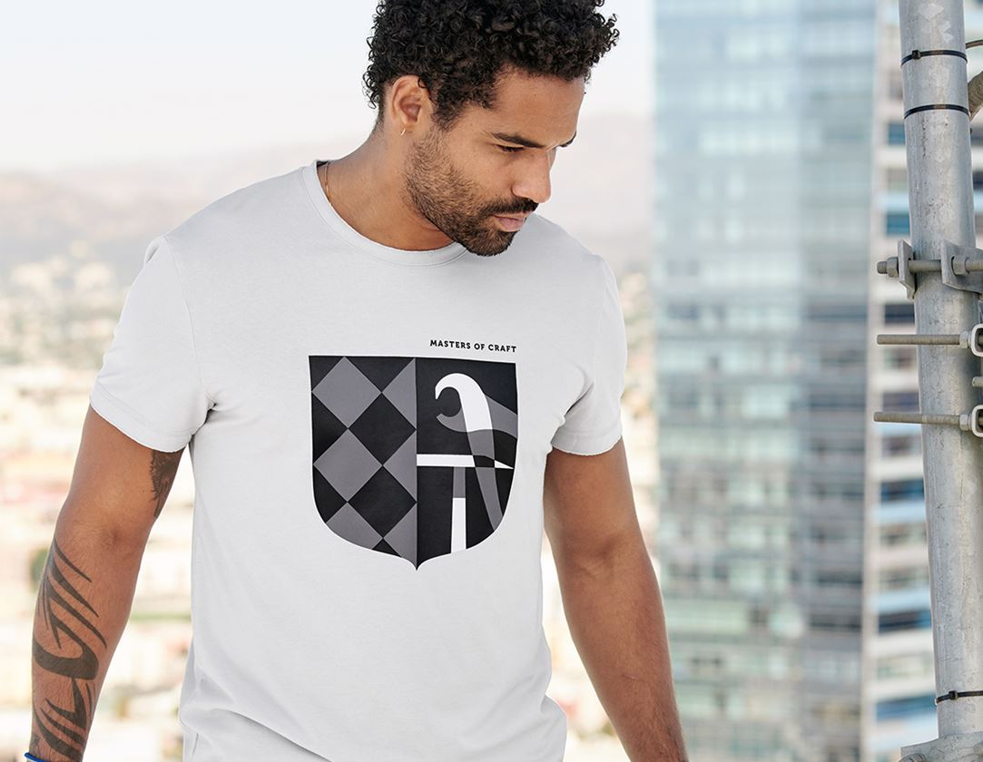 Bovenkleding: e.s. T-shirt Masters of Craft + kristalgrijs 1