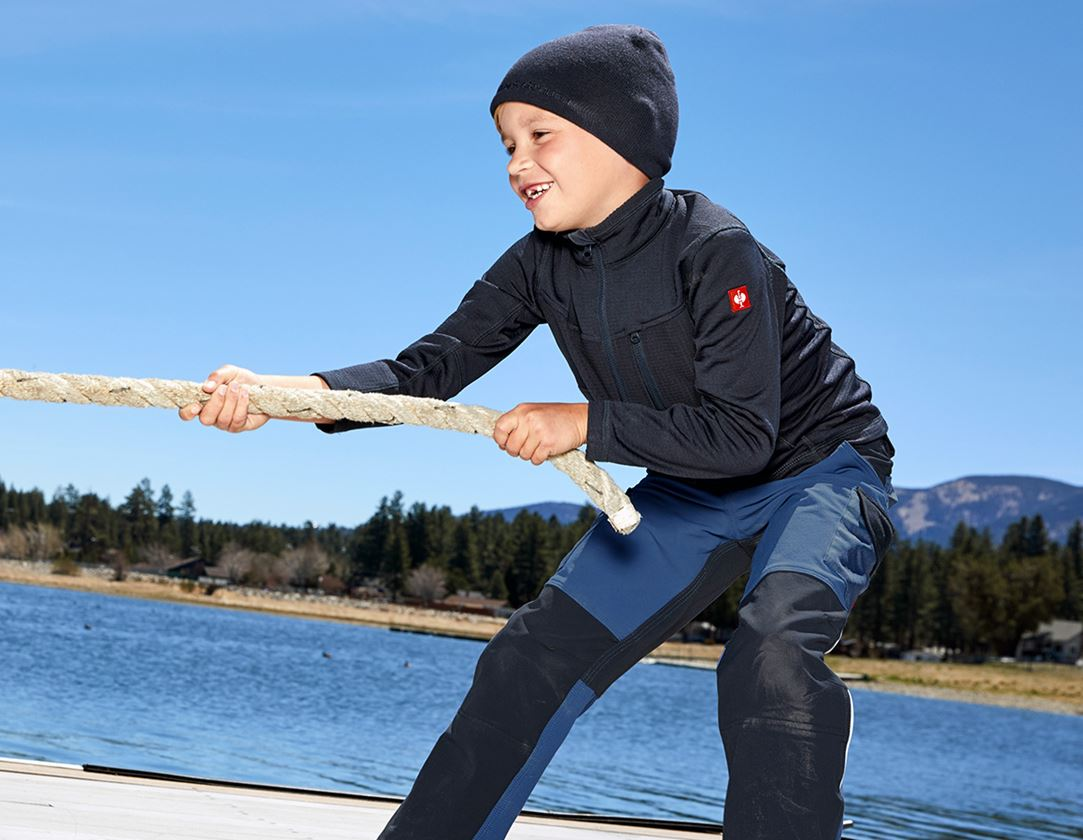 Bovenkleding: Schipperstrui climacell e.s.dynashield, kinderen + pacific 1