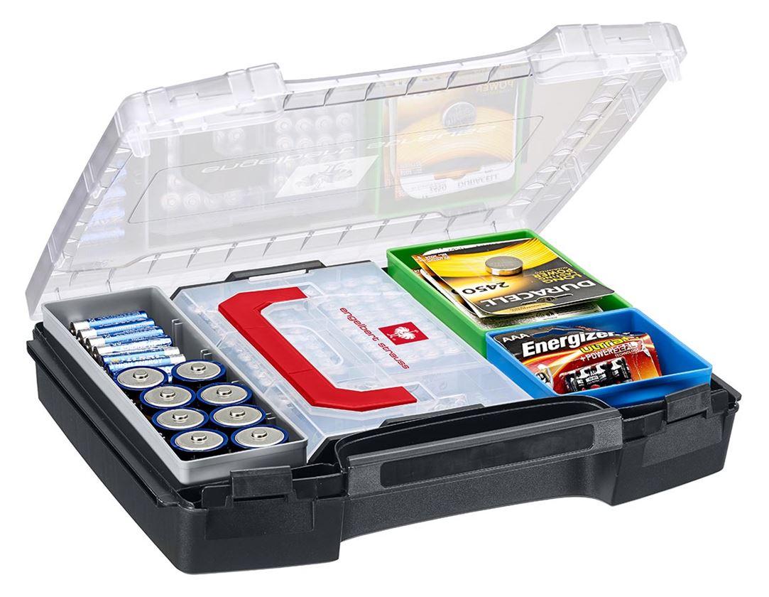 Gereedschapskoffers: e.s. Inzetboxen-set 72 3