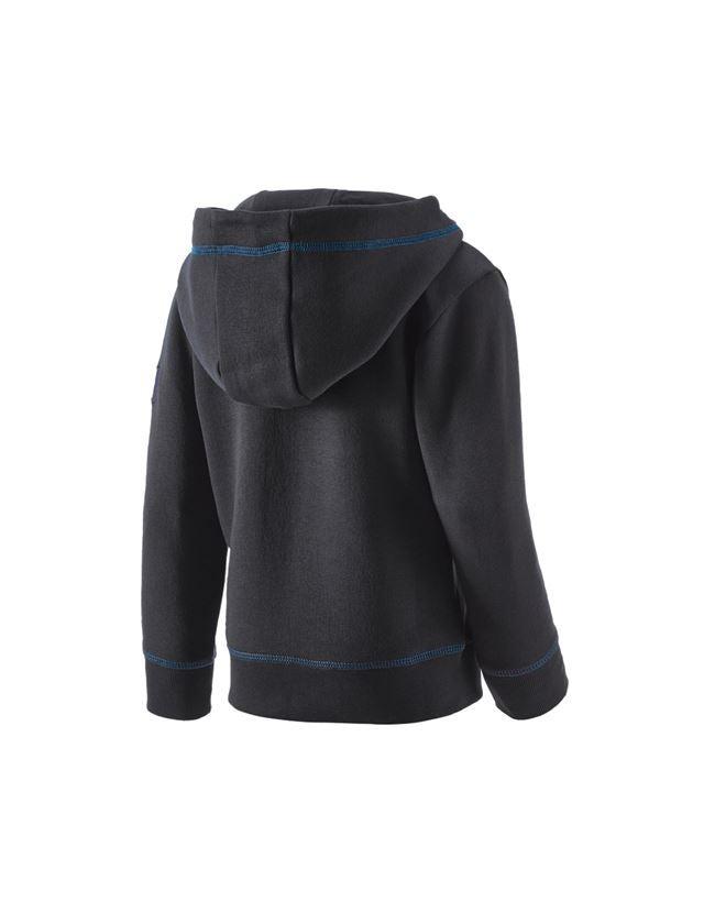 Bovenkleding: Hoody-Sweatshirt e.s.motion 2020, kinderen + grafiet/gentiaanblauw 2
