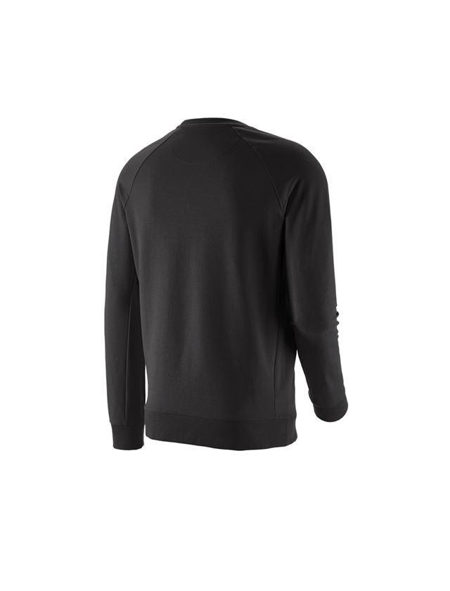 Bovenkleding: e.s. Sweatshirt cotton stretch + zwart 2