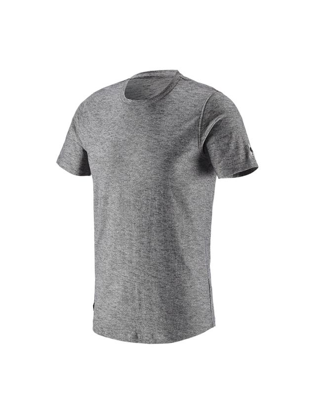 Bovenkleding: T-Shirt e.s.vintage + zwart mêlee