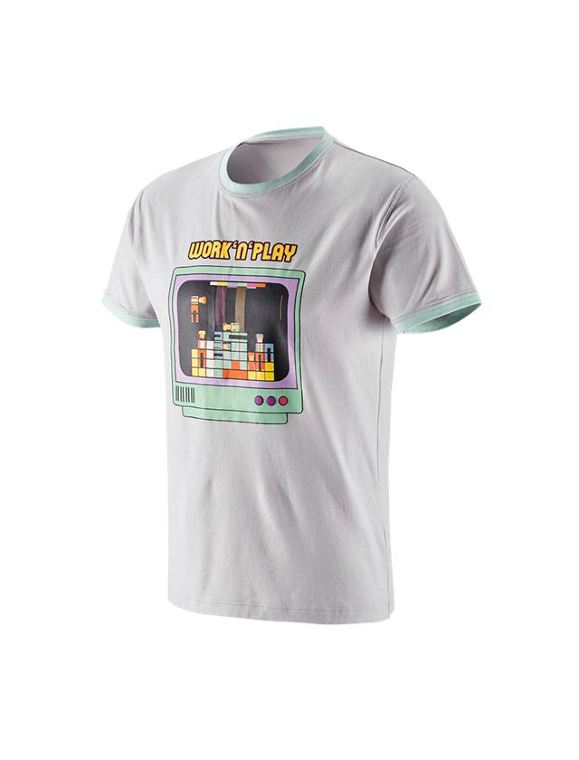 Bovenkleding: e.s. T-Shirt work'n'play + kristalgrijs