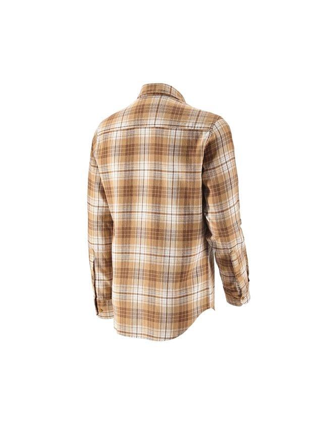 Bovenkleding: Ruitjeshemd e.s.vintage + sepia geruit 2