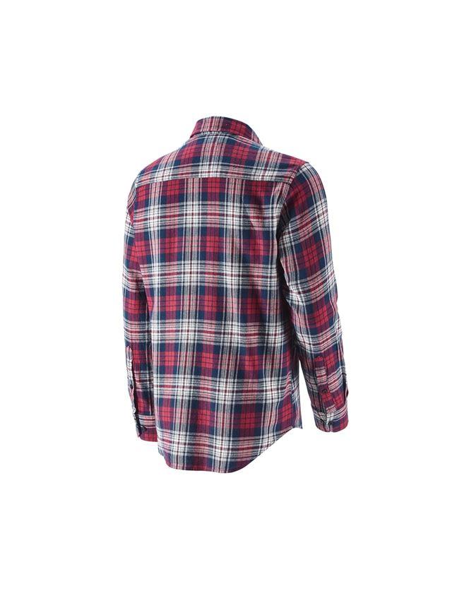 Bovenkleding: Ruitjeshemd e.s.vintage + rood geblokt 2