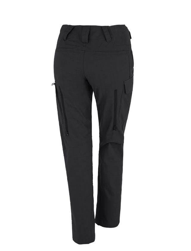 Werkbroeken: e.s. Werkbroek pocket, dames + zwart 1