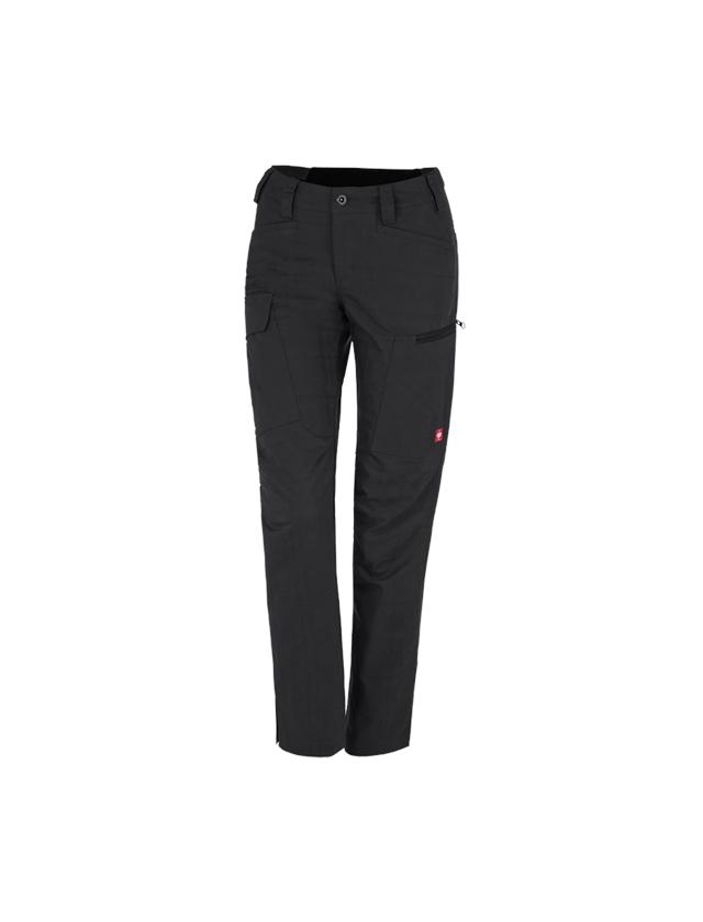 Werkbroeken: e.s. Werkbroek pocket, dames + zwart