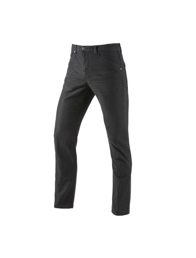 Werkbroeken: 5-pocket Broek e.s.vintage + zwart