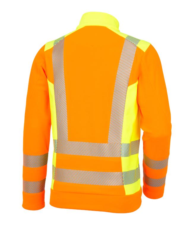 Bovenkleding: Veiligheids-fleecetrui e.s.motion 2020 + signaaloranje/signaalgeel 1