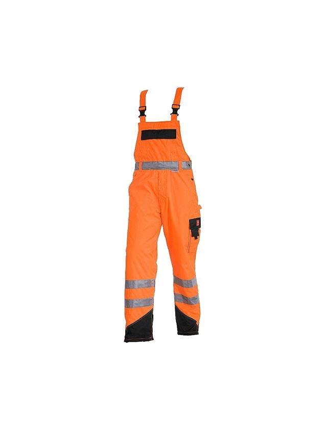 Werkbroeken: Veiligheids-thermo-tuinbroek e.s.image + signaaloranje