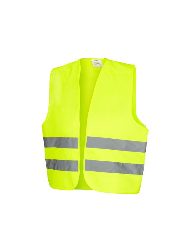 Werkvesten: STONEKIT Veiligheids-bodywarmer Basic + signaalgeel