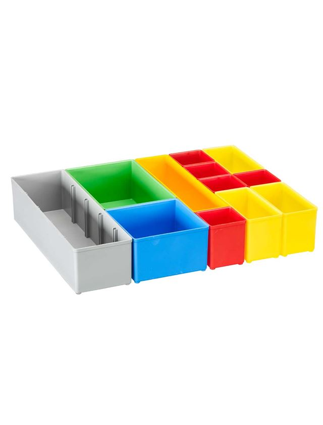 Gereedschapskoffers: e.s. Inzetboxen-set 72