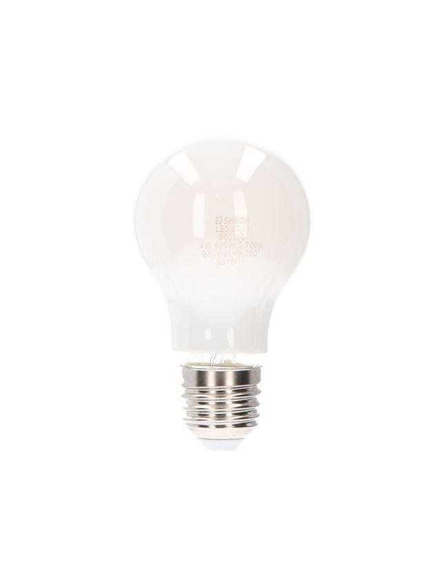 Lampen | verlichting: LED-filament spaarlamp klassiek mat