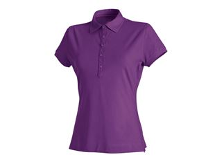 e.s. Polo-Shirt cotton stretch, dames