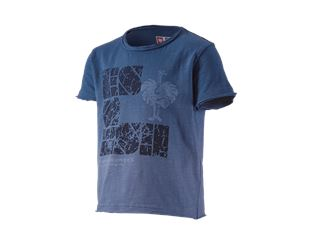e.s. T-Shirt denim workwear, kinderen