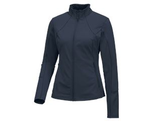 e.s. Functioneel sweatjack solid, dames