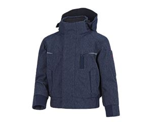 Winter functioneel pilotjack e.s.motion denim, k.