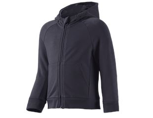 e.s. hoody-sweatjack cotton stretch, kinderen