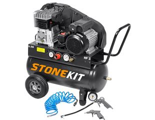 STONEKIT Montagecompressor Tech 400