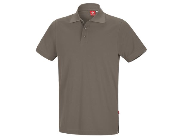 Bovenkleding: e.s. Polo-Shirt cotton + steen