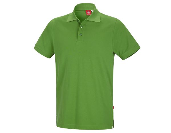 Bovenkleding: e.s. Polo-Shirt cotton + zeegroen
