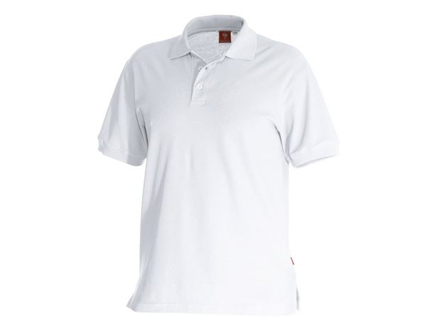 Poloshirts: e.s. Polo-Shirt cotton + wit