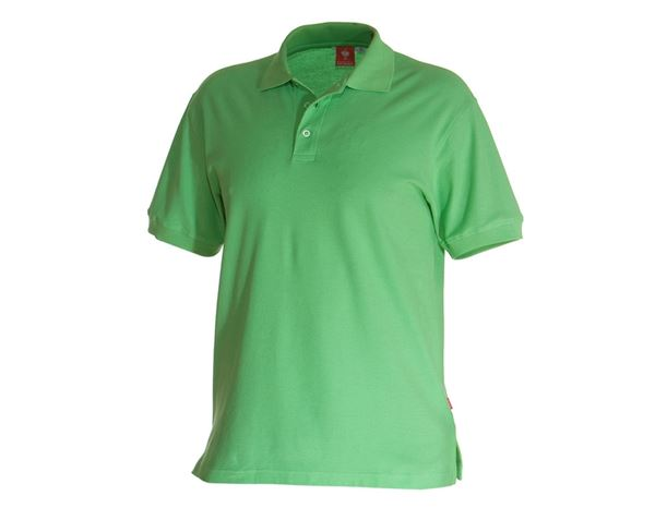 Bovenkleding: e.s. Polo-Shirt cotton + appelgroen