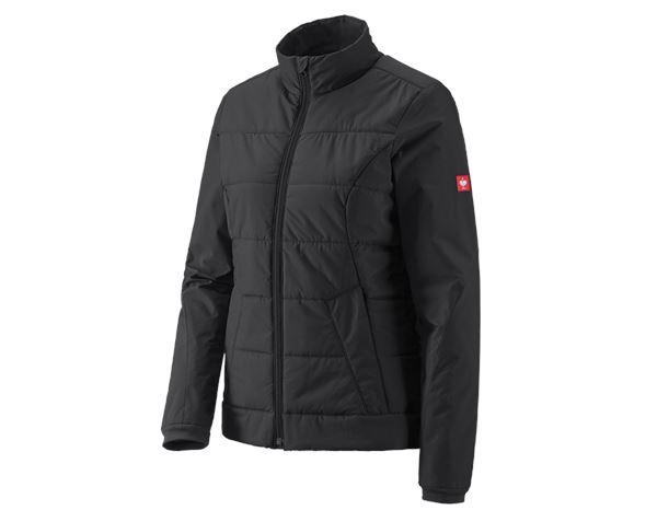 Werkjassen / Bodywarmer: Windbreaker e.s.motion 2020, dames + zwart/antraciet