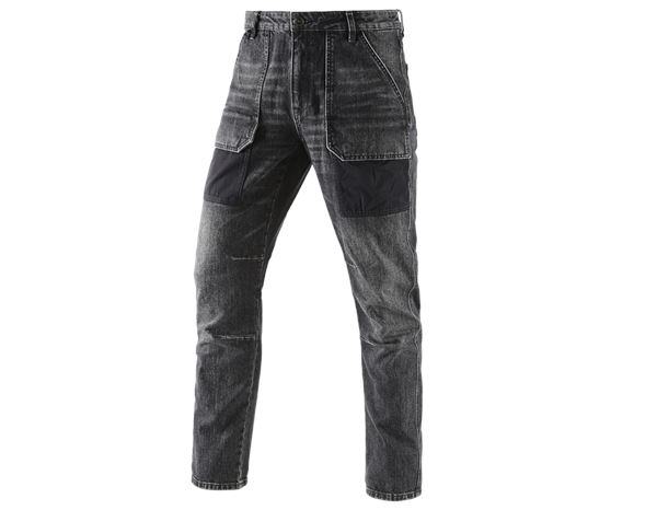 Jeans / Spijkerbroeken: e.s. 7- pocket-jeans POWERdenim + blackwashed