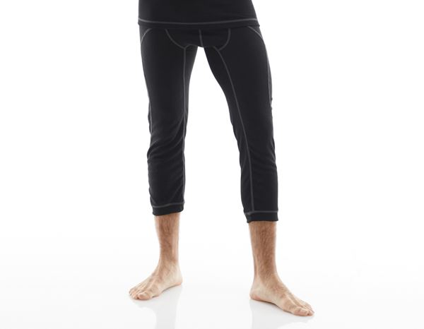 Ondergoed | Thermokleding: e.s. Functionele-3/4 Pants basis-warm + zwart 1
